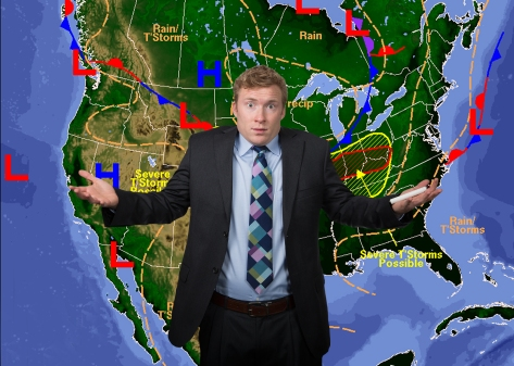 Confused Weatherman